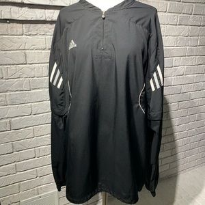 Adidas removable sleeves windbreaker